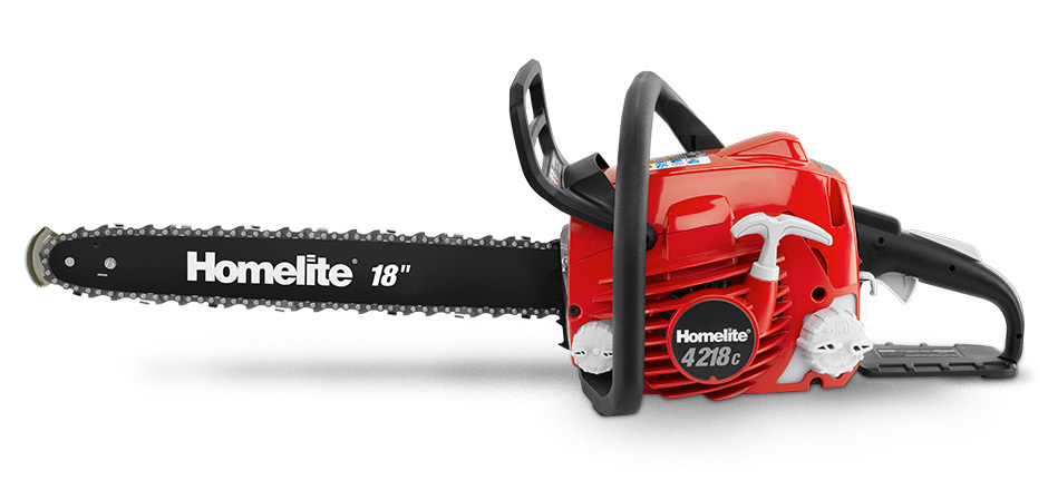 Homelite 18in. Chainsaw: Tool Review  Busted Wallet
