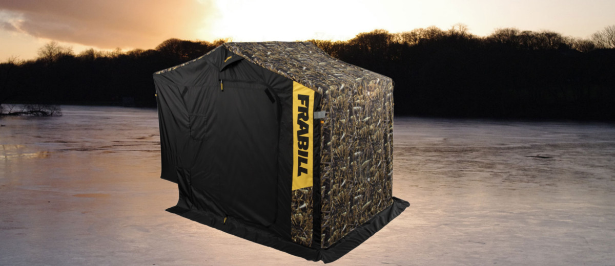 Frabill Fishouflage Ambush Dlx Ice Shelter Busted Wallet