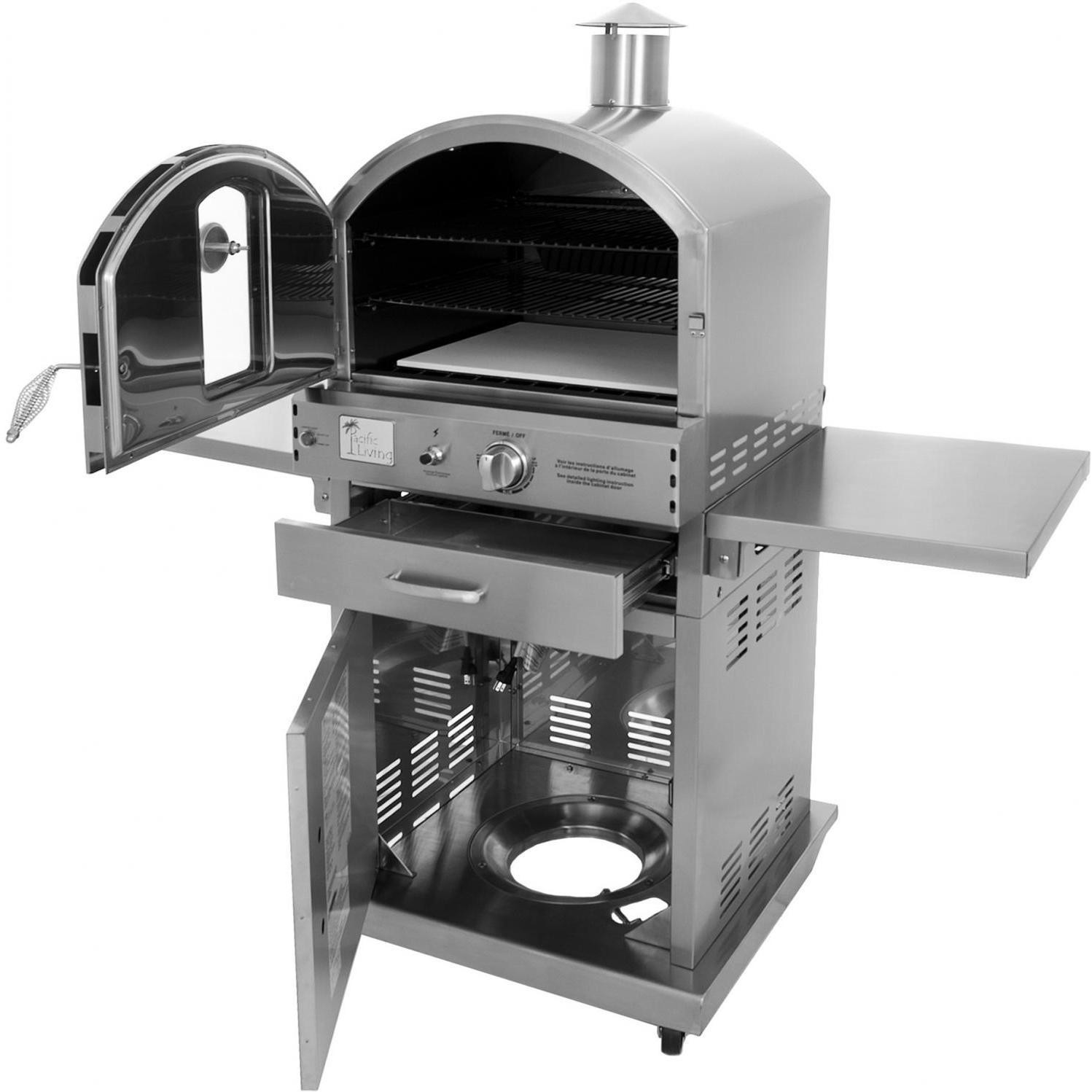 Pacific Living : Pacific Living Outdoor Oven - Backyard Review  Busted Wallet