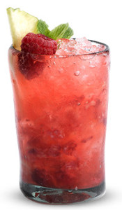 Olmeca Raspberry and Pineapple Smash Cocktail Recipe