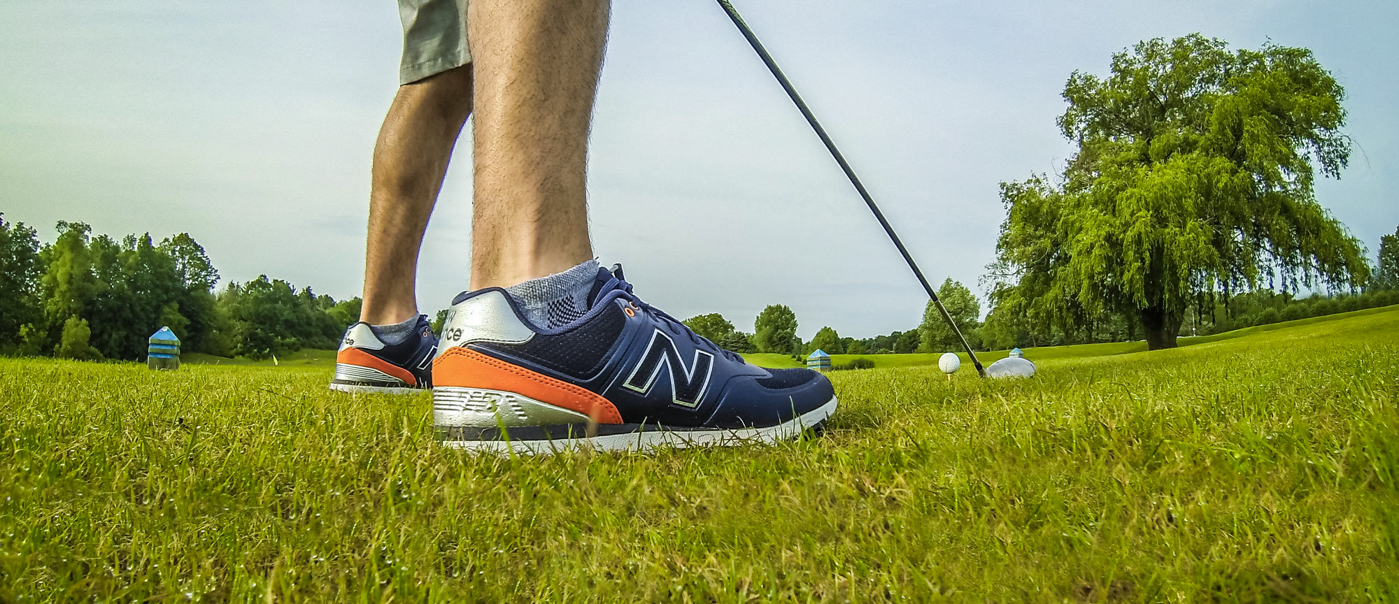 new balance men's nbg574 golf shoes