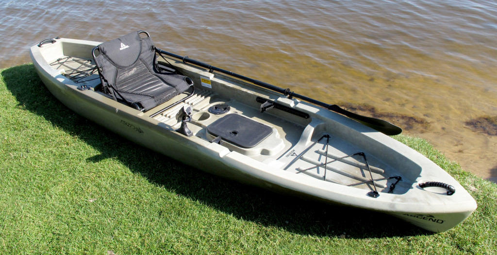 Ascend Fs12t Sit On Top Angler Kayak Busted Wallet