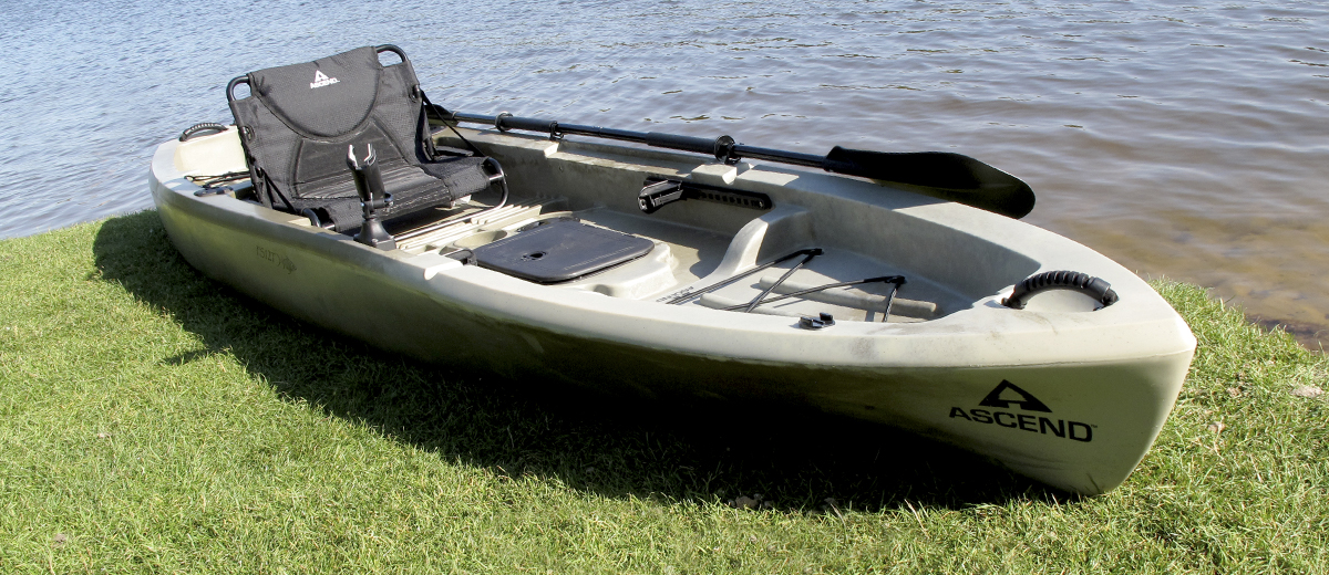 Ascend Fs12t Sit On Top Angler Kayak Busted Wallet