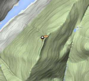Summit of Mount Colvin