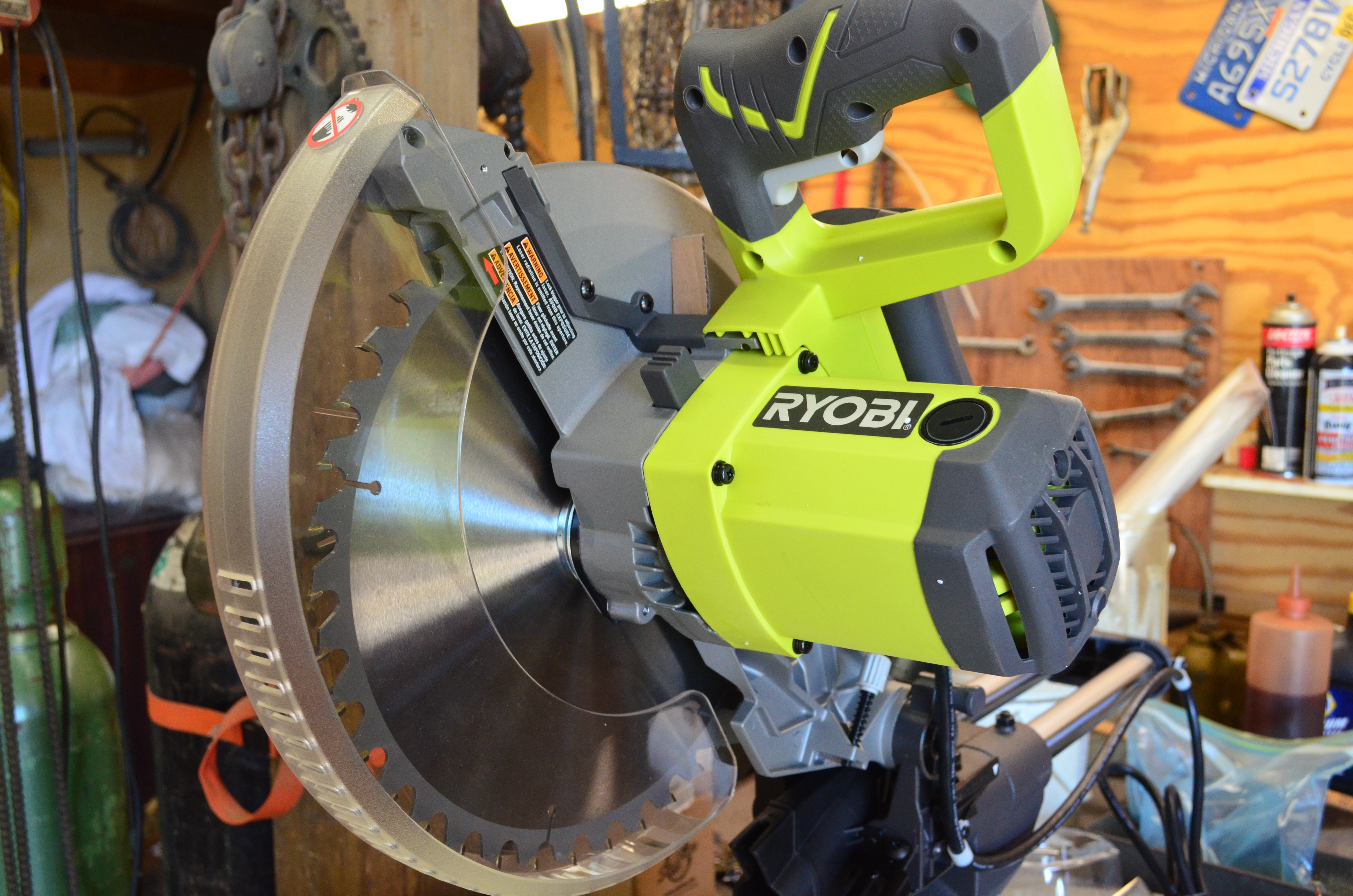 Ryobi 12 sliding miter saw tool review busted wallet greentooth Image collections