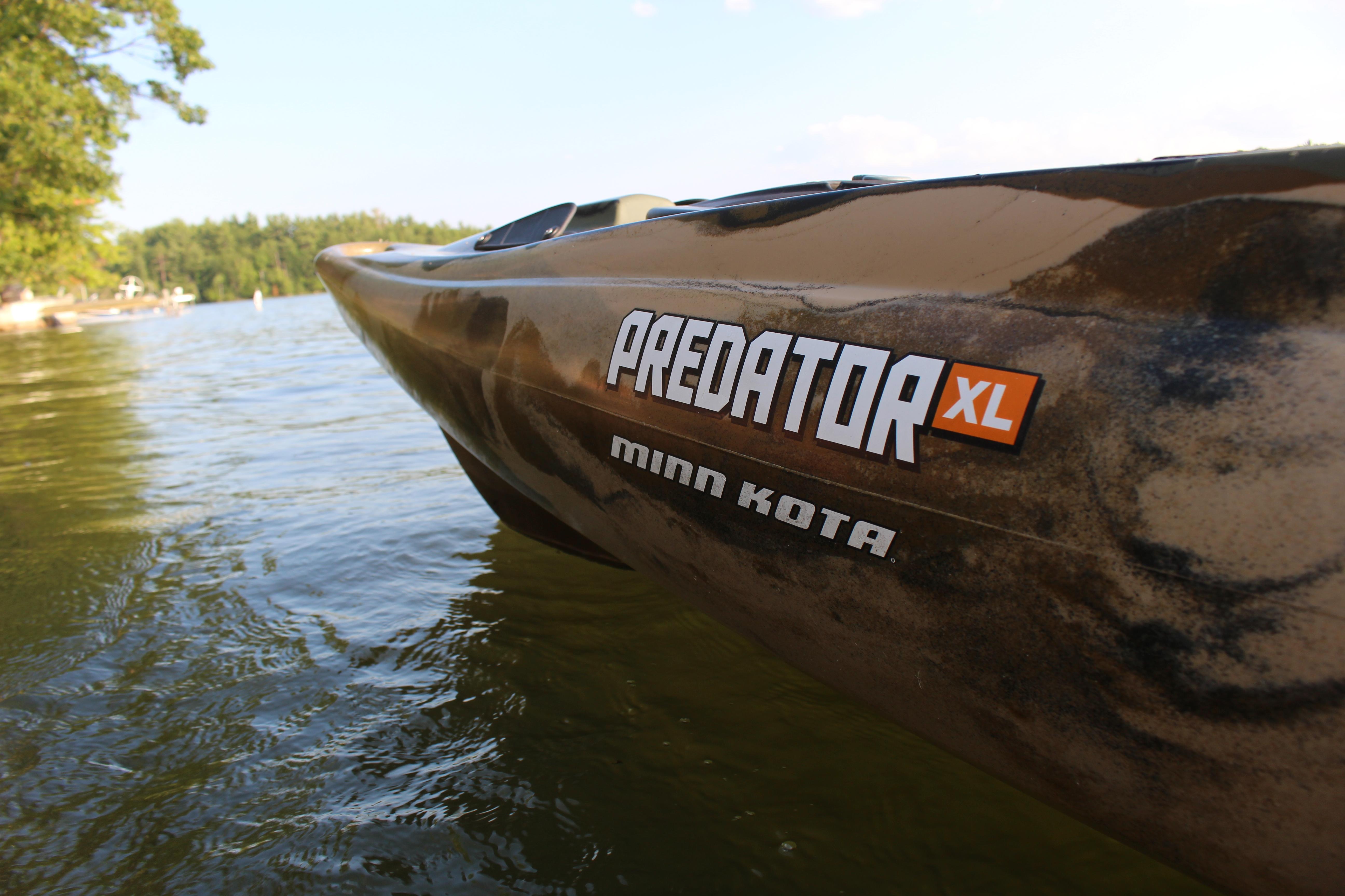 Predator xl minn kota kayak review busted wallet for Cabela s advanced angler 120 trolling motor