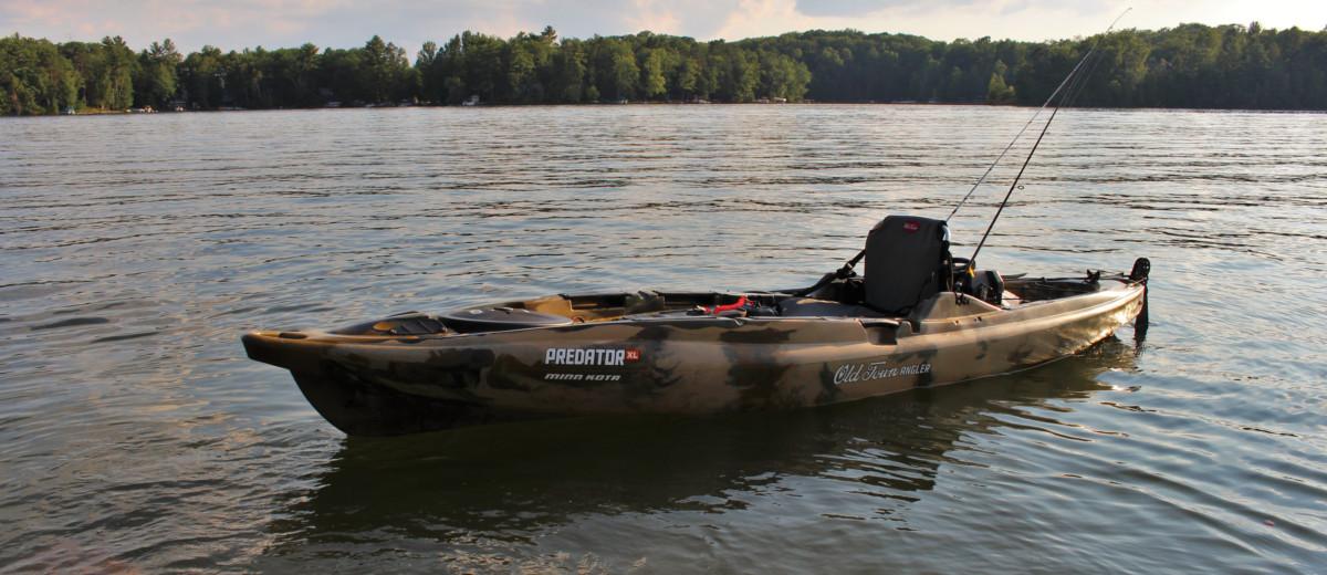 Predator xl minn kota kayak review busted wallet for Predator fishing kayak