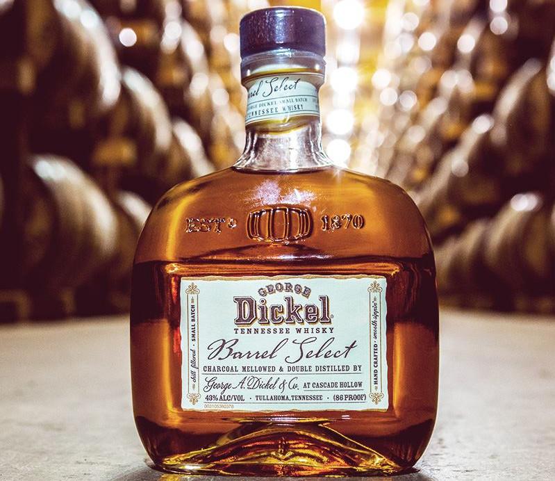 dickel barrel select