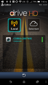 Cobra CDR 900 - Connect