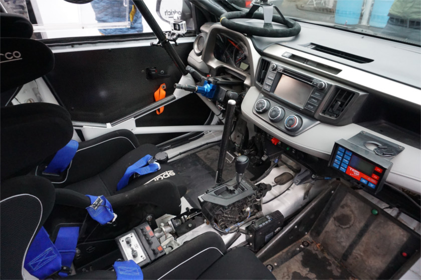 rav4 rally cockpit