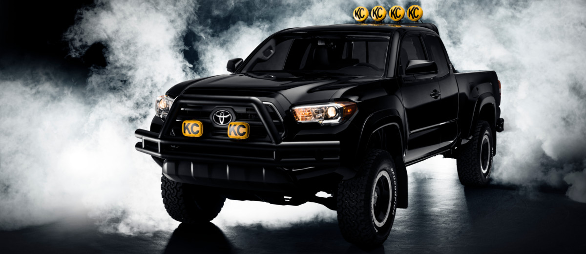 Back To The Future 2016 Toyota Tacoma Busted Wallet