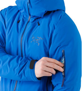 Arc'teryx's Fissile jacket busted wallet review arm zip