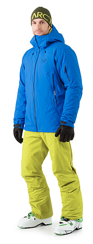 Arc'teryx's Fissile jacket busted wallet review blue