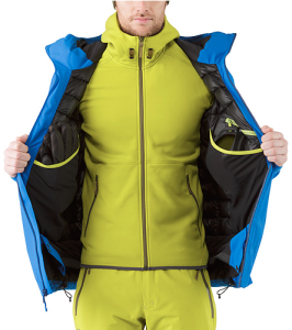 Arc'teryx's Fissile jacket busted wallet review inside pockets