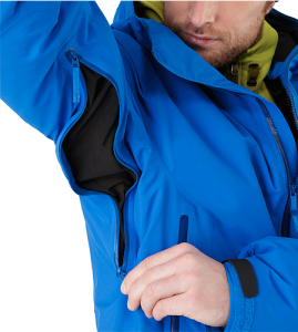 Arc'teryx's Fissile jacket busted wallet review pit zip