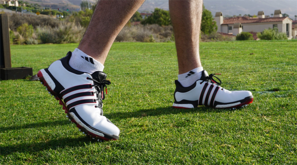 tour360 boots on the course