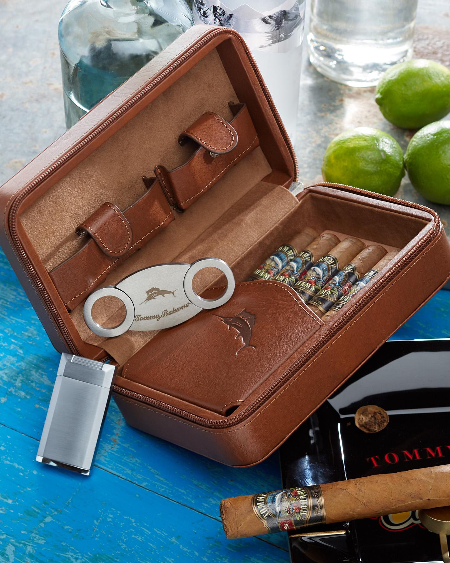 Overnight Cigar Case by Tommy Bahamajpg