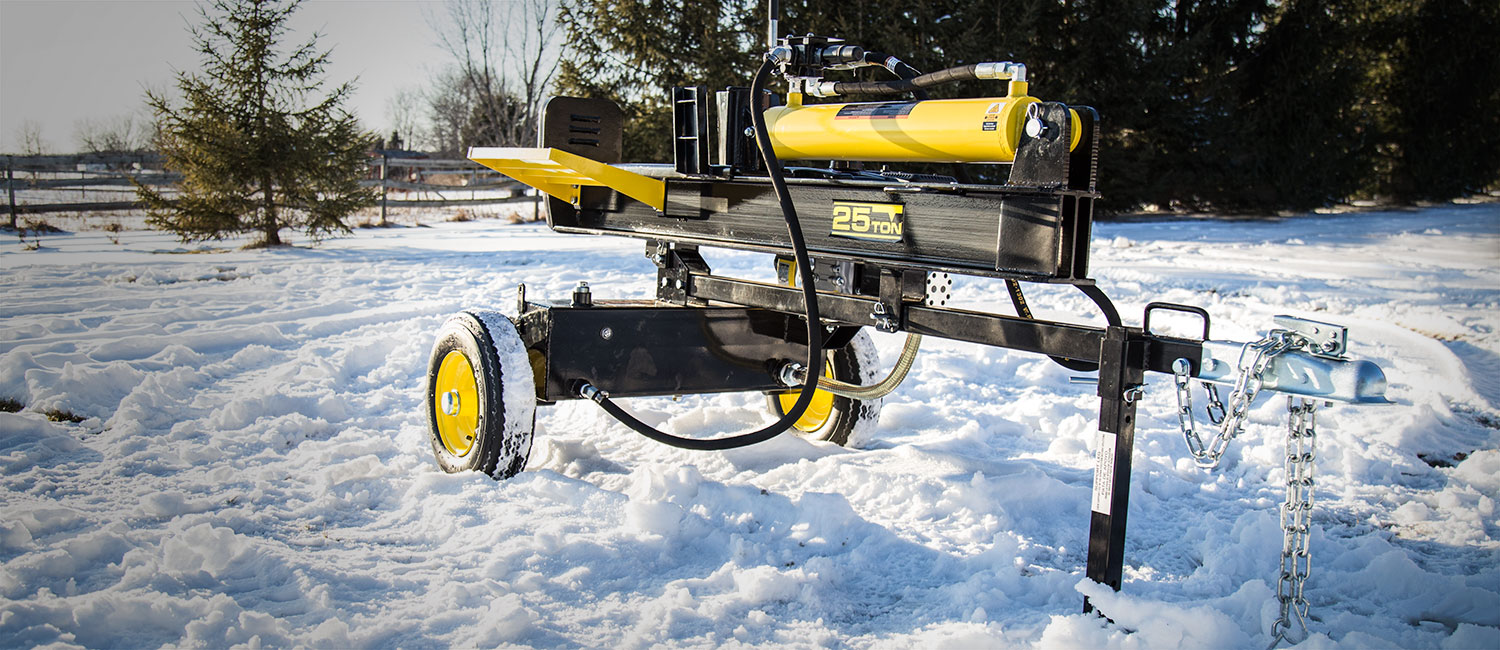 Champion 25 Ton Log Splitter - Tool Review | Busted Wallet