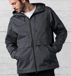 jacket chrome windcheater