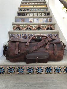 Roosevelt Buffalo Leather Travel Duffle Review
