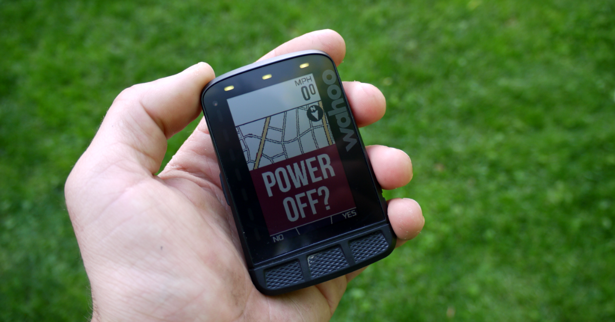 Wahoo ELEMNT ROAM Review_Power Off