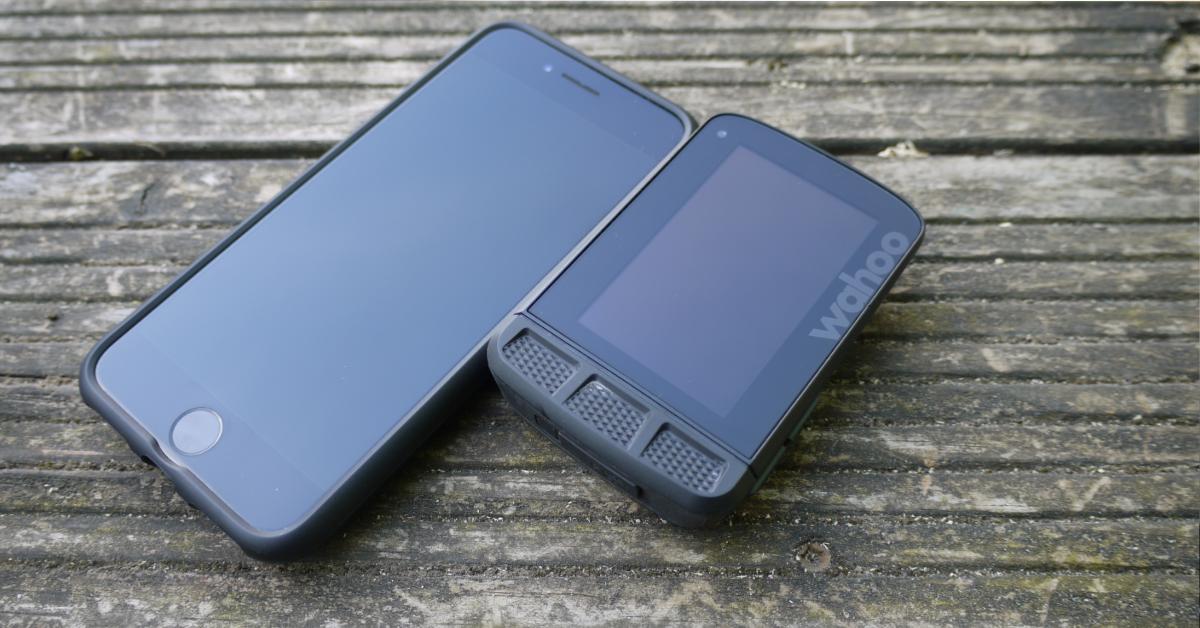 Wahoo ELEMNT ROAM Review_Smartphone