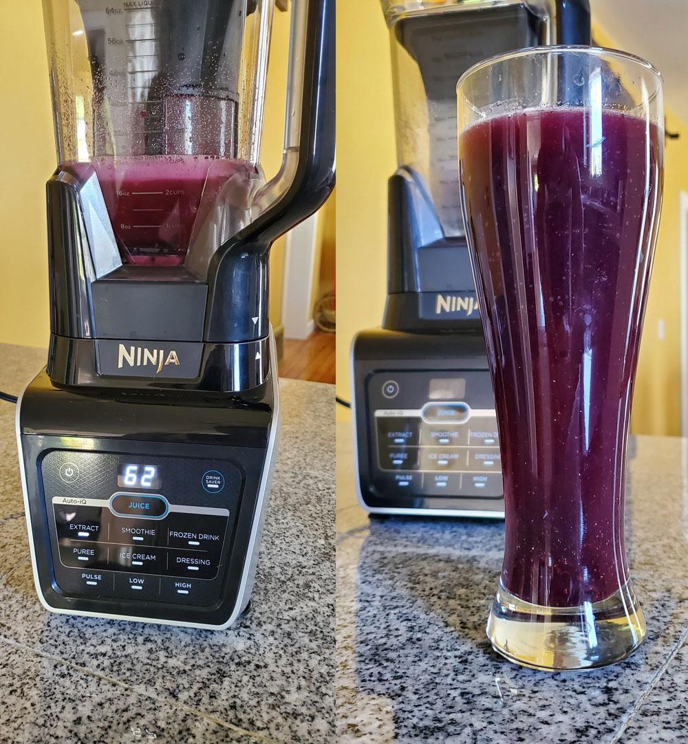 Ninja Blender juice