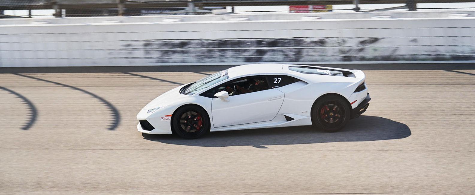 xtreme xperience racing Lamborghini driving track