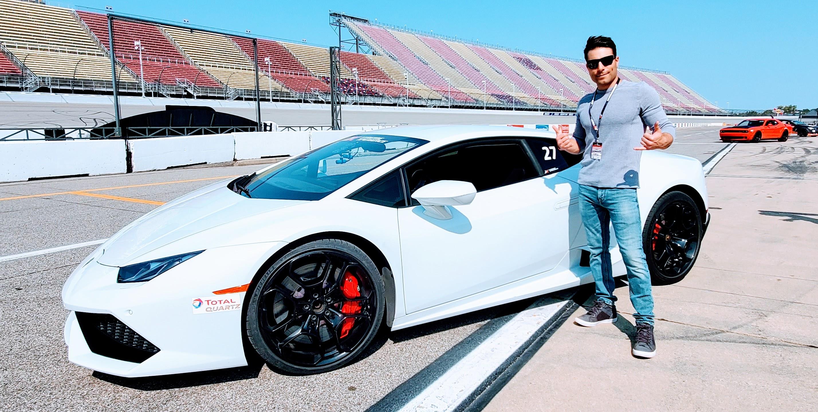xtreme xperience racing Lamborghini driving
