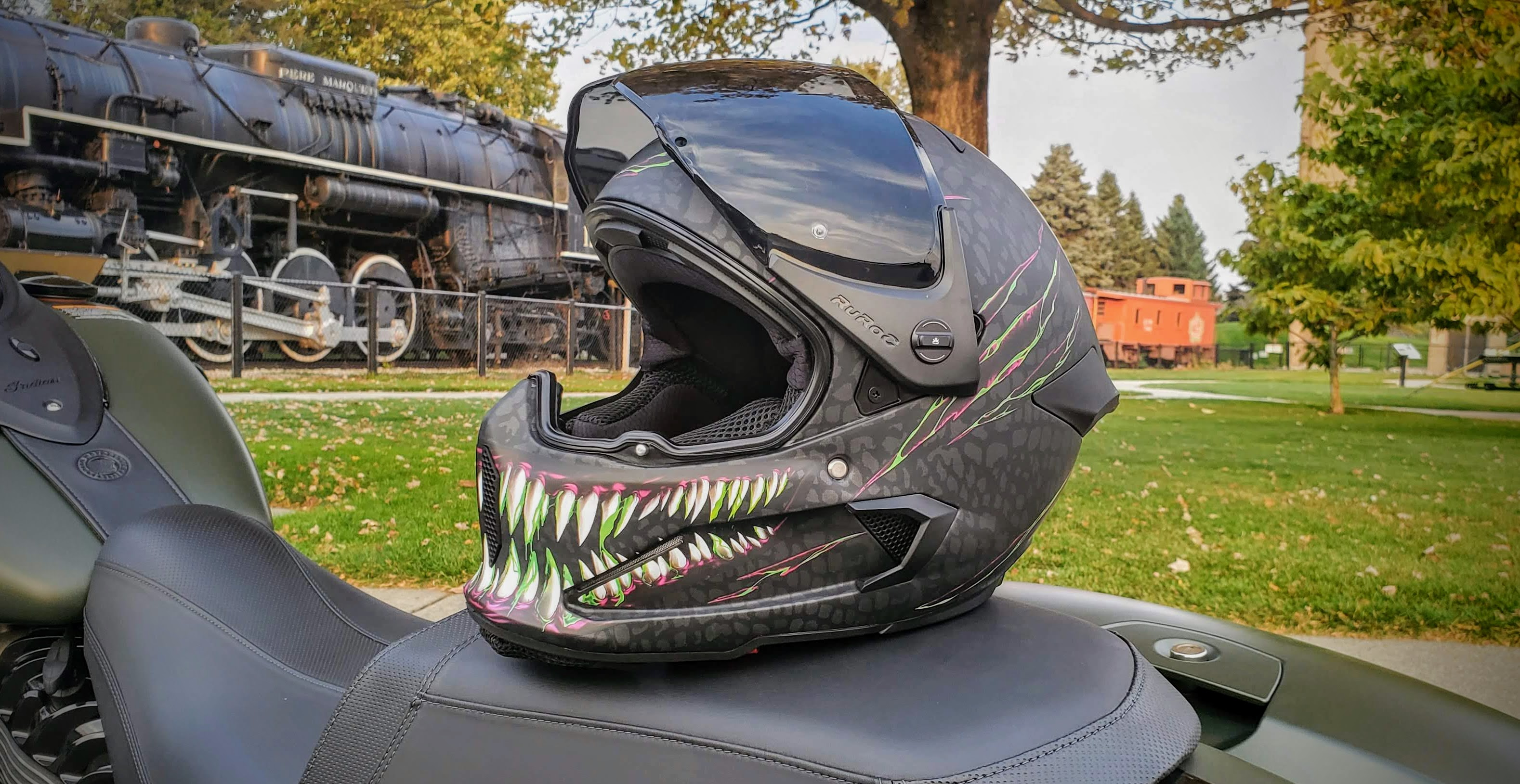 Ruroc Atlas 2.0 helmet visor